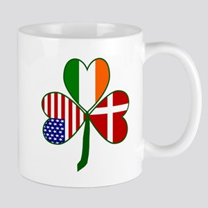 Danish Shamrock Mugs