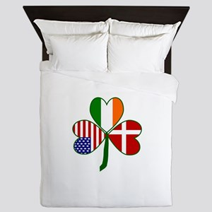 Danish Shamrock Queen Duvet
