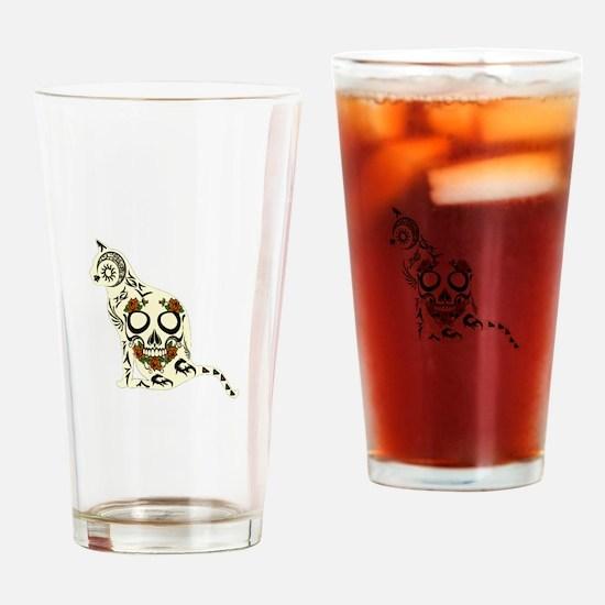 CAT Drinking Glass