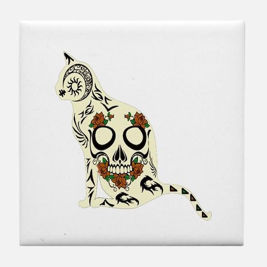 CAT Tile Coaster