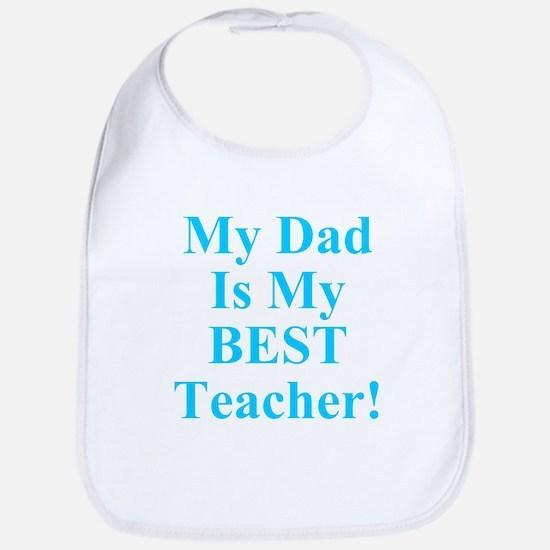 Twisted Imp Dad Is Best Teacher Bib