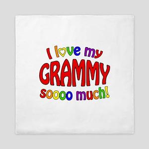 I love my GRAMMY soooo much!! Queen Duvet