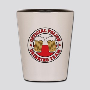 Official Polish Drinking Team Drinkware Shot Glass