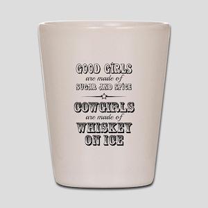 Whiskey on Ice Shot Glass