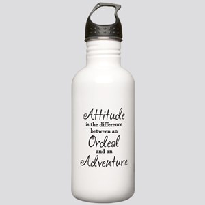 Attitude Quote Stainless Water Bottle 1.0L