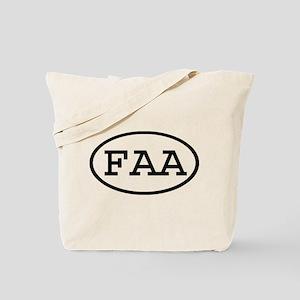 FAA Oval Tote Bag