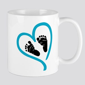 Baby Heart (Maternity) Mugs
