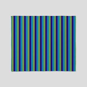 Stripes2015H5 Throw Blanket