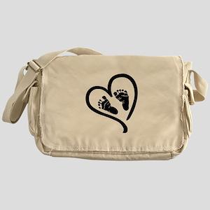 Baby Heart (Maternity) Messenger Bag