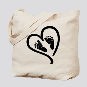 Baby Heart (Maternity) Tote Bag