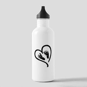 Baby Heart (Maternity) Water Bottle