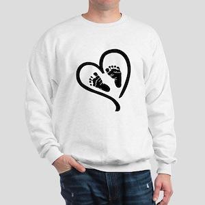 Baby Heart (Maternity) Sweatshirt
