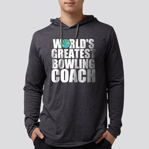 World's Greatest Bowling Coach Long Sleeve T-S