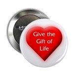 Organ Donation - Gift of Life Button