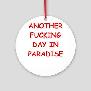 paradise Ornament (Round)