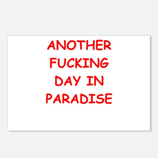 paradise Postcards (Package of 8)