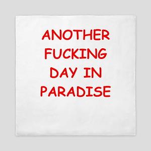 paradise Queen Duvet