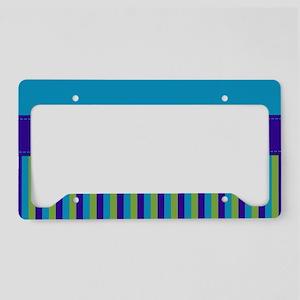 Stripes2015H4 License Plate Holder