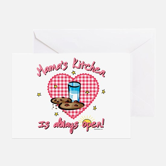 Mama's Kitchen Open Greeting Card