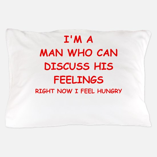 feelings Pillow Case