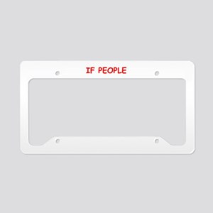 liked License Plate Holder