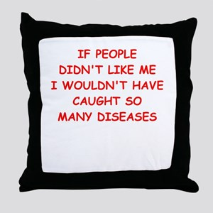 liked Throw Pillow