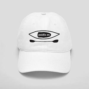 Paddle on Kayak Baseball Cap