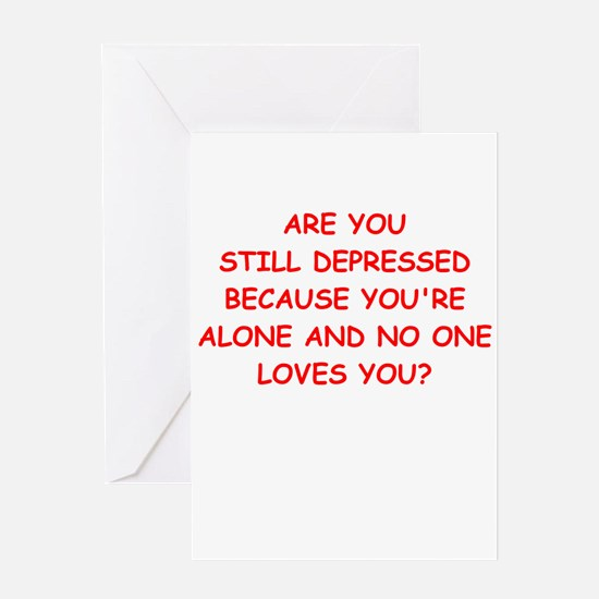 pity Greeting Cards