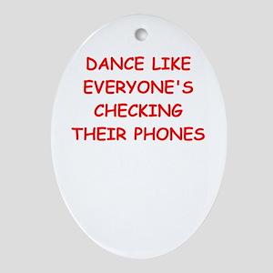 dance Ornament (Oval)
