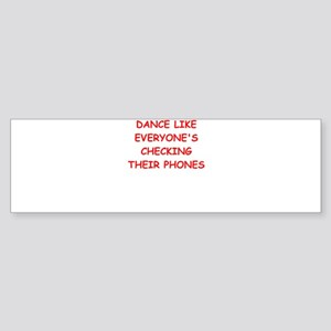 dance Bumper Sticker