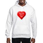 Organ Donation - Gift of Life Hooded Sweatshirt
