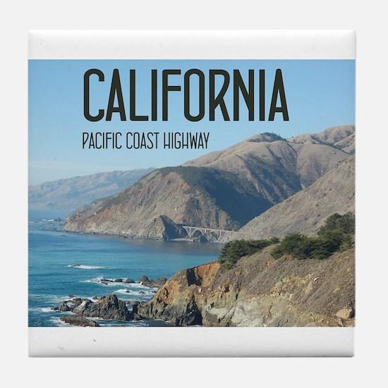 California Pacific Coast Highway 1 Bixby Bridge Ti