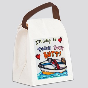 Touch Your Butt Nemo Canvas Lunch Bag