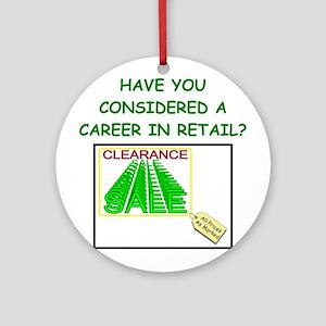 retail Ornament (Round)