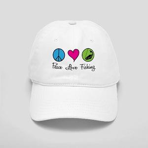 Peace Love Fishing Cap