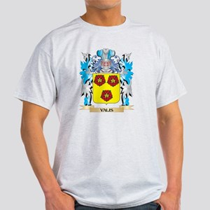 Valis Coat of Arms - Family Cres T-Shirt