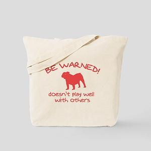 Old English Bulldog Tote Bag