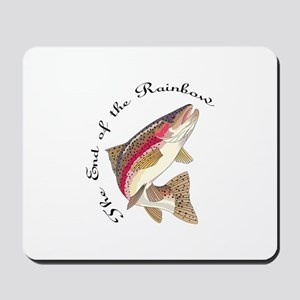 THE END OF THE RAINBOW Mousepad