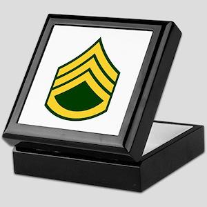 "Army E6 ""Class A's"" Keepsake Box"