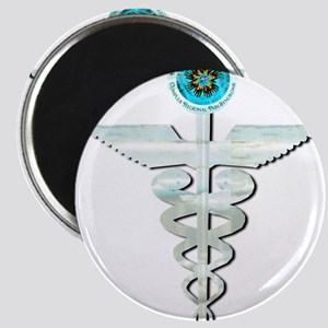 CRPS RSD Awareness Glacier Caduceus Magnets