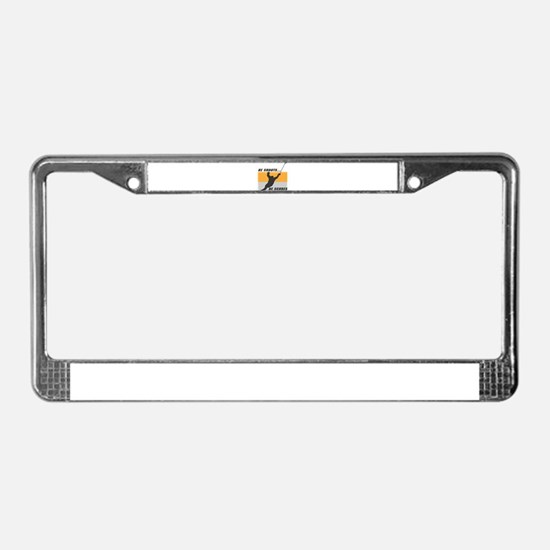 He Shoots...He Scores! License Plate Frame
