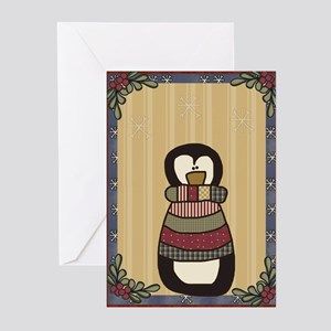Country Penguin Greeting Cards (Pk of 10)