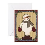 Ready for Snow Greeting Cards (Pk of 10)