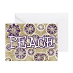 Snowflake Peace Greeting Cards (Pk of 10)
