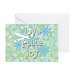Retro Holiday Greeting Cards (Pk of 20)