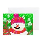 Winter Snowman Greeting Cards (Pk of 10)