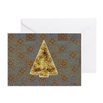 Embossed Tree Greeting Cards (Pk of 10)