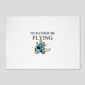 Rather Be Flying2 5'x7'Area Rug