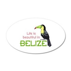TOUCAN LIFE IN BELIZE Wall Decal