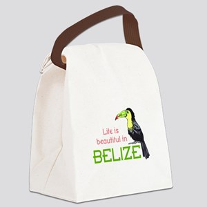 TOUCAN LIFE IN BELIZE Canvas Lunch Bag